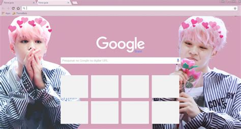 google chrome themes kpop bts bts jimin chrome theme themebeta