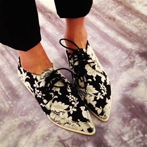 floral oxford shoes floral oxfordsfashion floral prints black and white