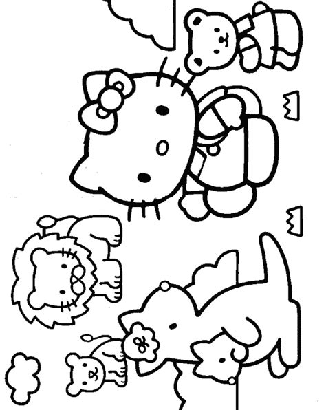 hello kitty hawaii coloring pages hello kitty coloring pages kids coloring home