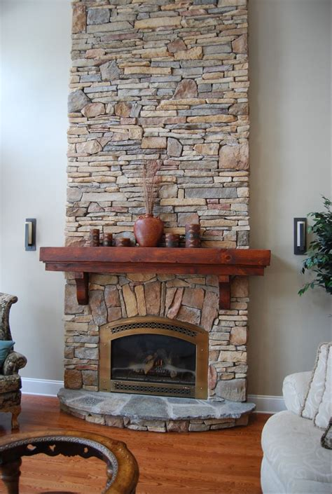 Cultured Fireplace Mantels by Fireplace Done With Cultured Rustic Southern