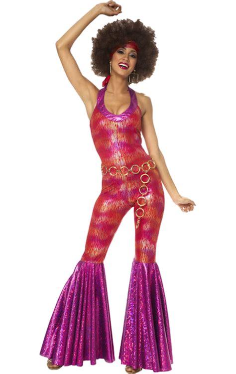 foxy lady disco costume womens adult 70s foxy disco lady costume jokers masquerade