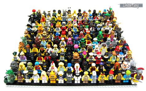 Lego Minifigures Series 12 Complete Set 16 Character review 71001 lego collectable minifigures series 10