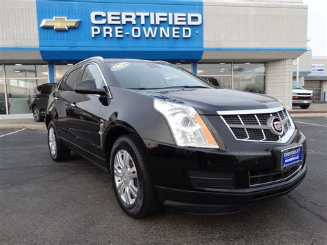 cadillac preowned pre owned 2012 cadillac srx luxury collection sport