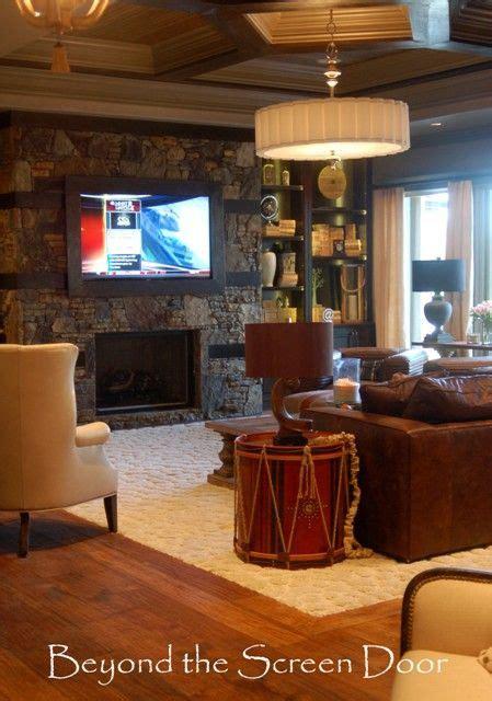 warm  inviting family room family room living room