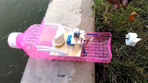 how to make a boat diy how to make a 9v battery boat awesome boat diy youtube