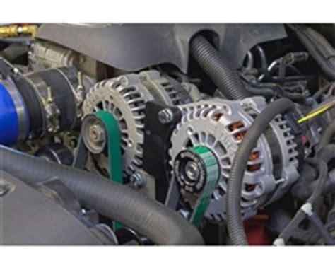 chevy and gm vortec high amp dual alternator bracket kit