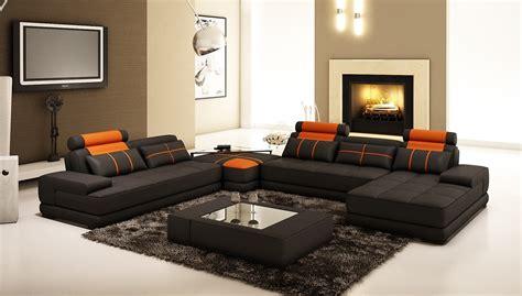 and black sofa set orange and black sofa sets home the honoroak