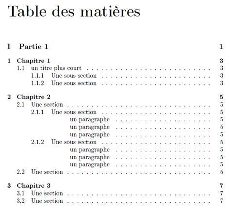 Sommaire Et Index R 233 Digez Des Documents De Qualit 233 Avec