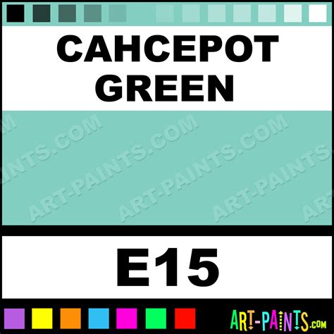 cahcepot green casual colors spray paints aerosol decorative paints e15 cahcepot green