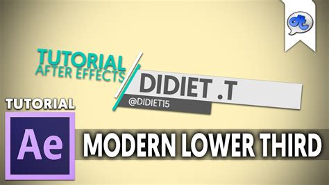 tutorial adobe after effect bahasa indonesia adobe after effects tutorial 39 modern lower third