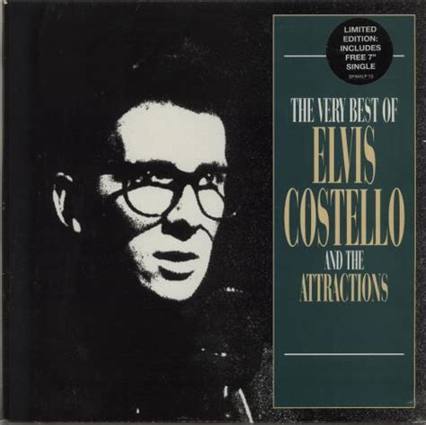 elvis costello best elvis costello the best of elvis costello 7 quot uk