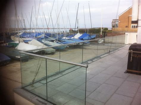 glass banister uk some of our balustrade installations steel and glass balustrades