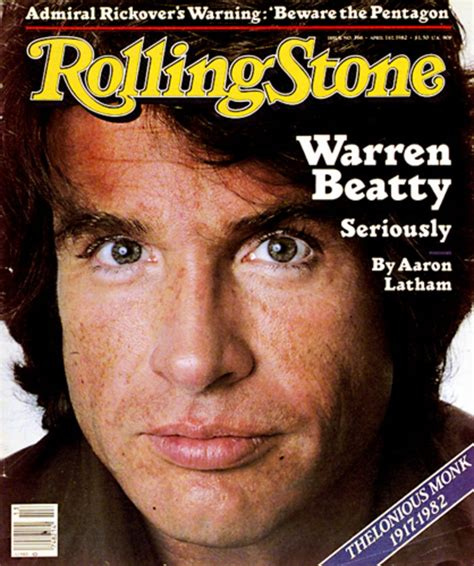 Cover Bening Warren Beatty Leading On The Cover Of Rolling