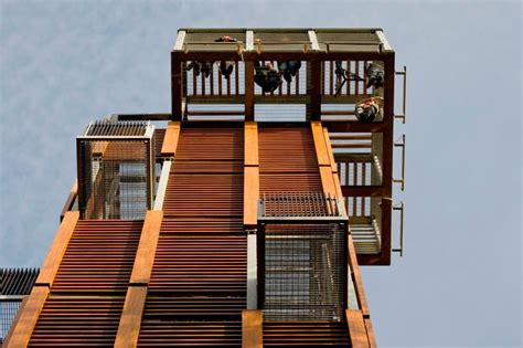 observation tower plans arhis architects observation tower in jurmala