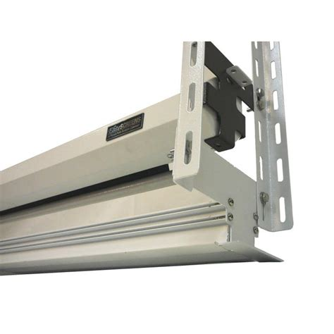 How To Install Projector Screen On Ceiling by Installation Projector Screen Ceiling Filecloudalive