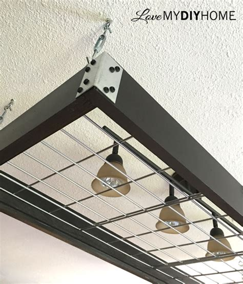 pot rack pendant light diy pot rack pendant lights or industrial wood