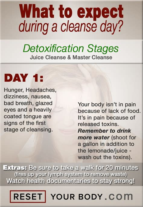 What To Expect When You Detox Your by What To Expect During A 5 10 Day Cleanse Reset Your