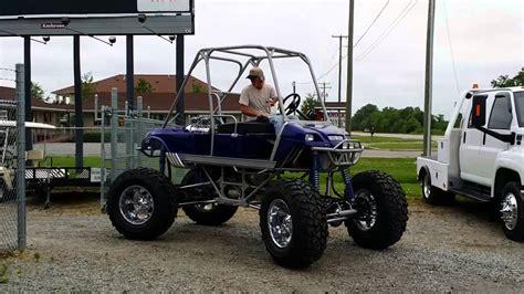 golf cart fans v8 golf cart 383 stroker 671 blower part 1 youtube