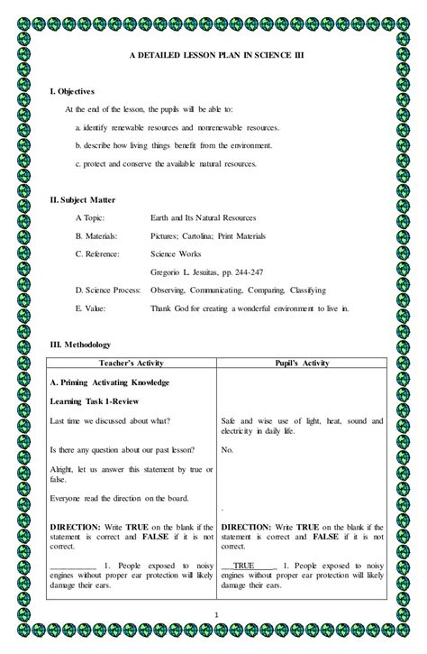 4a S Detailed Lesson Plan In Science 3