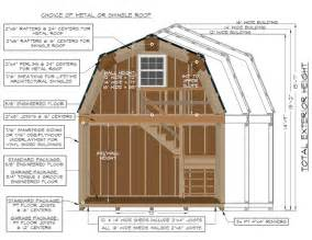two story barns pine creek structures 12x12 shed plans gable shed construct101