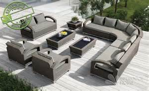 Formidable Salon De Jardin Tresse Gris #1: Salon-de-jardin ...