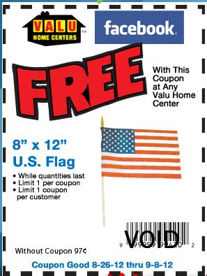 wny deals and to dos valu home centers free flag with