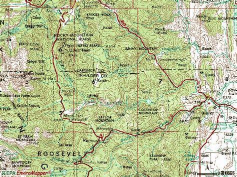 map of colorado lyons 80540 zip code allenspark colorado profile homes