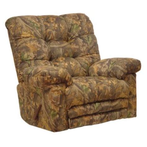 camo massage recliner catnapper magnum camouflage oversized chaise rocker