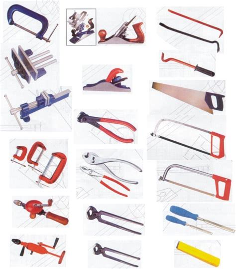 names of woodwork tools أدوات نجار