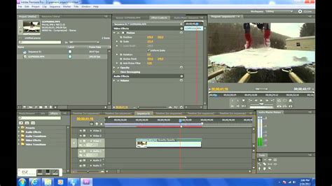 Adobe Premiere Pro Gopro | adobe premiere pro slow motion tutorial gopro hero3 black