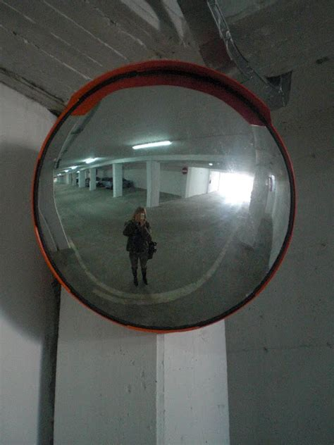Parking Garage Mirrors by Molfetta Daily Photo Parking Garage Mirror