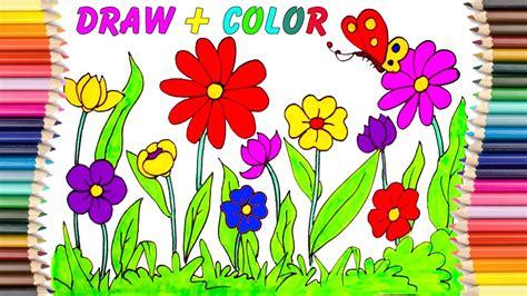 imagenes sobre flores flor para colorear dibujos para ni 241 os libro y dibujo