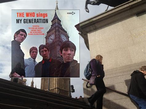 the who sings my generation album cover location