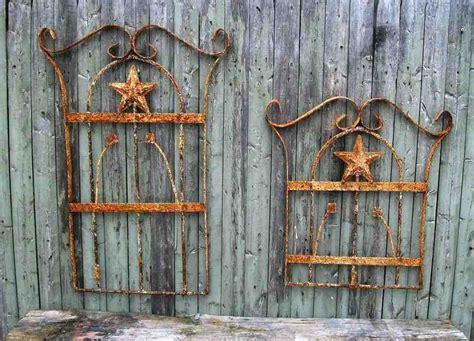 wrought iron  wood wall decor decor ideas