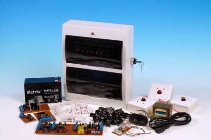 home built diy home security alarm system all