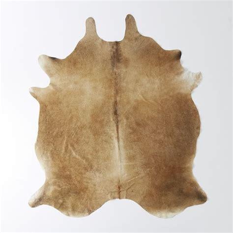 cowhide rugs cowhide rug west elm