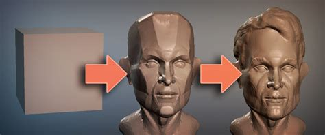 tutorial blender sculpt sculpting tutorial planes of the face blendernation