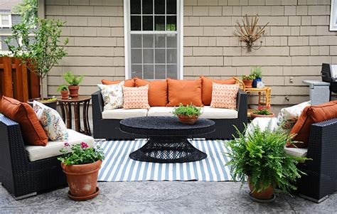 Patio Decorating Ideas by Patio Decorating Ideas A Modern Chic Patio Refresh The