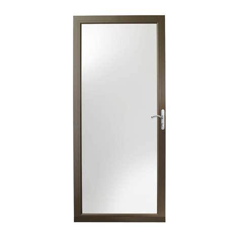Andersen 4000 Door by Andersen 32 In X 80 In 3000 Series White Self Storing Truscene Door 3tsn 32wh The Home
