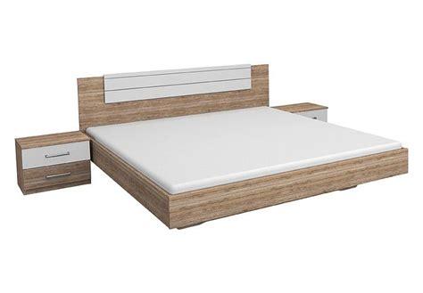 Schlafzimmer Bett 180x200 970 by Bettanlage Barcelona San Remo Eiche Hell Wei 223 180x200