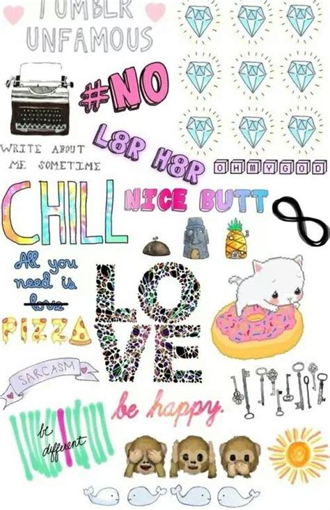 wallpaper girl things tumblr collage girly things pinterest collage und tumblr