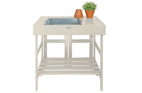 potting table with sink the gardenista 100 best mini potting tables gardenista