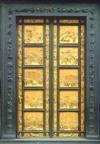 florence baptistery original gold doors by lorenzo