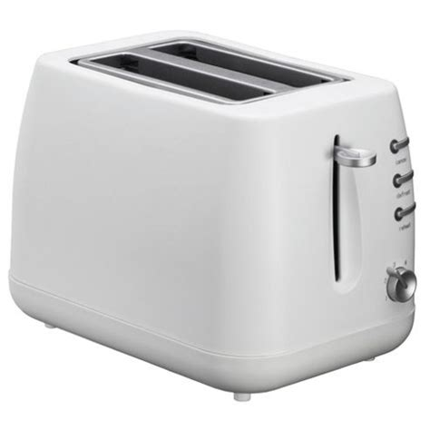 Tesco 2 Slice Toaster buy tesco 2 slice plastic toaster white from our