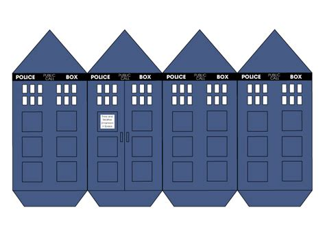 tardis cut out by charpal on deviantart