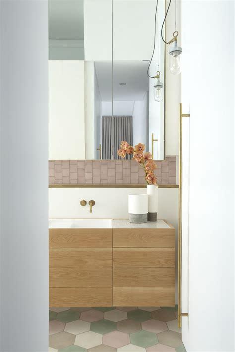 Carreaux Ciment Salle De Bain 969 by Pohioadams Architects Bay House Bathroom