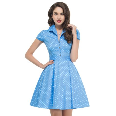 clothing for women in their 50s 2017 summer style 50s vintage retro rockabilly dresses