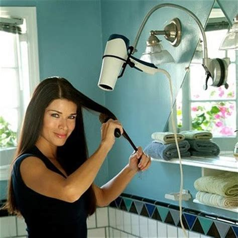 Free Hair Dryer Holder Diy hair dryer holder smart ideas dump a day