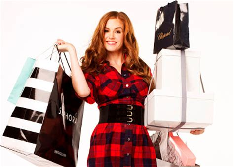 Ricci Shopaholic by Photoshoots Isla Fisher Quot Confessions Of A