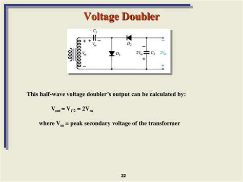 capacitor diode doubler diodes voltage doubler 28 images diodes voltage tripler engineering tutorial help